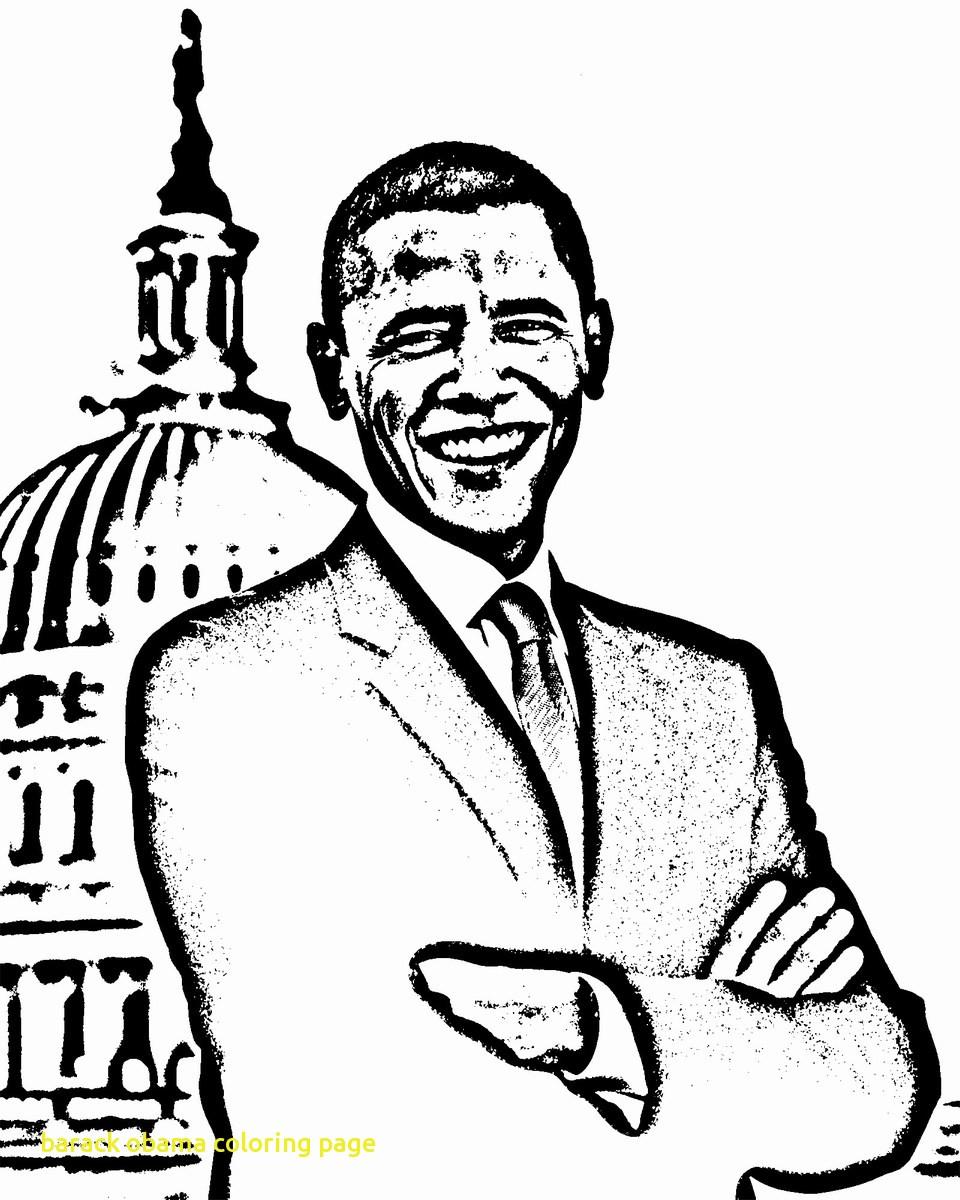 960x1200 Barack Obama Coloring Page