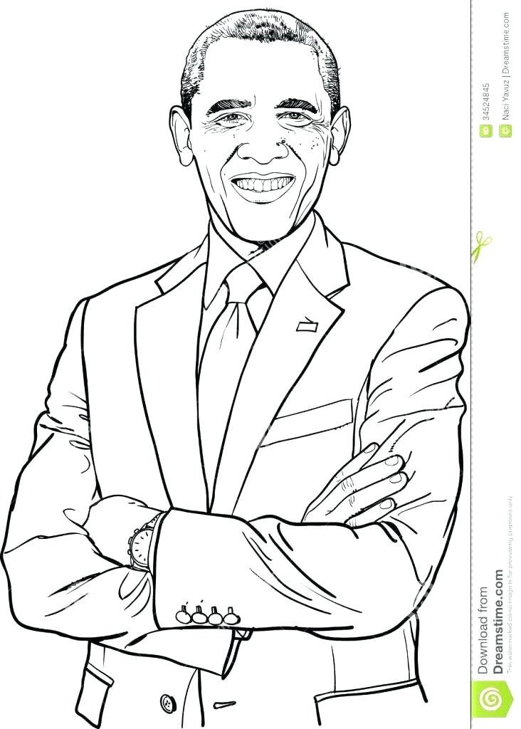 732x1024 President Obama Coloring Page Coloring Page Images Black History