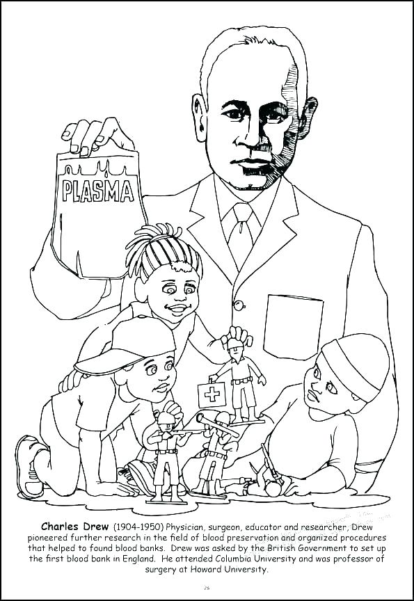 595x864 President Obama Coloring Pages Free Printable