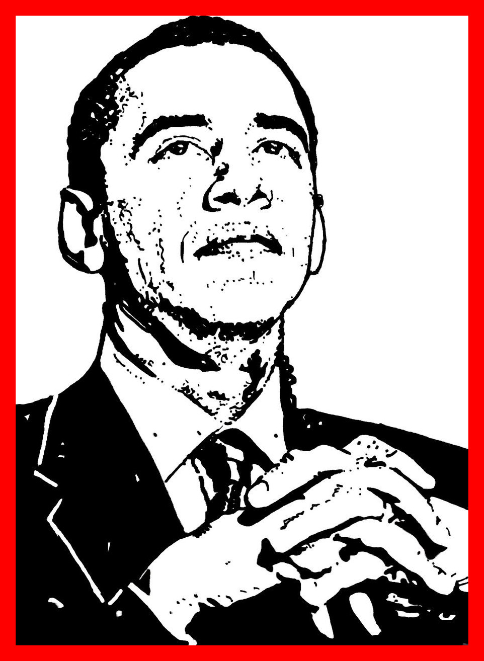 962x1314 The Best Barack Obama Coloring Pages Go Digital With Us A Pic