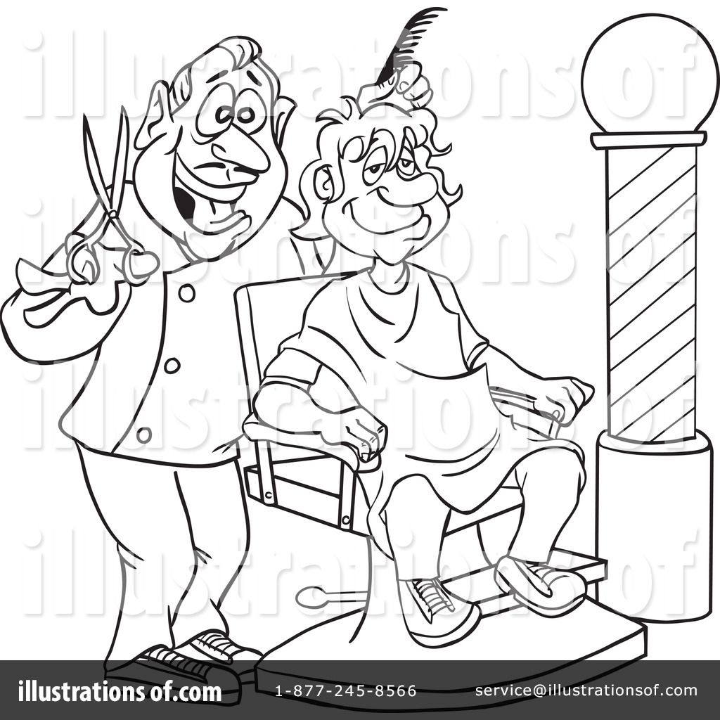 Barber Shop Coloring Pages At Getdrawings Free Download