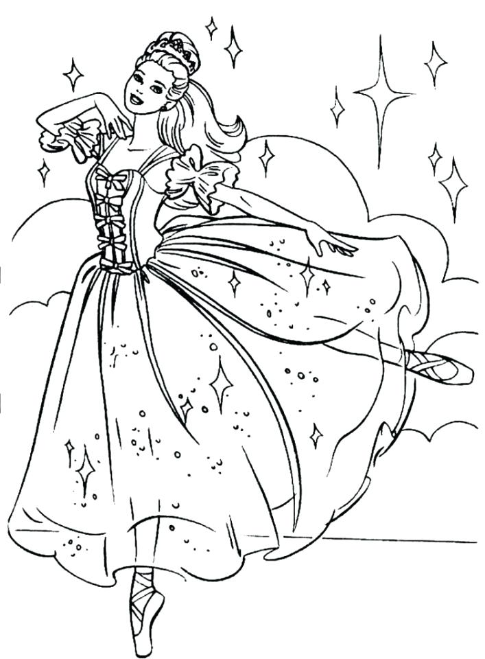 707x960 Barbie Ballerina Coloring Pages Beautiful Ballerina Coloring Pages