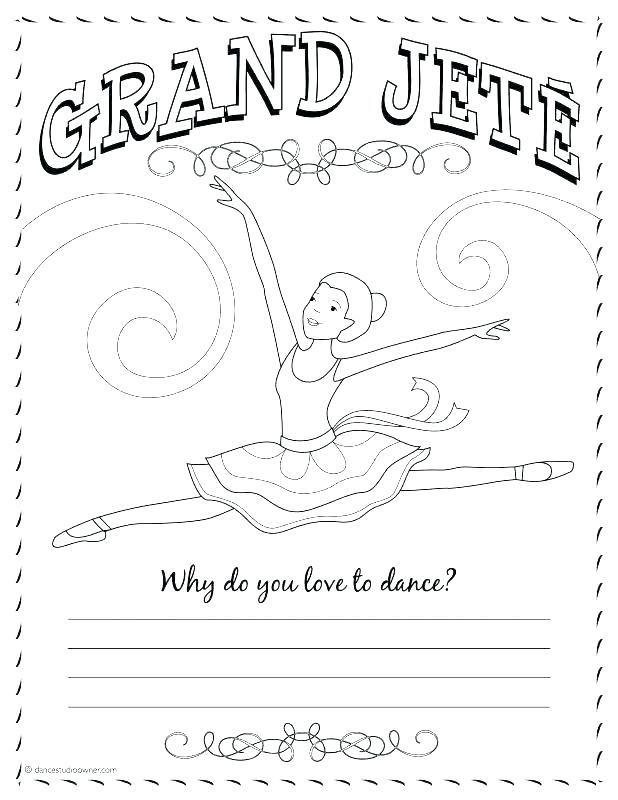 618x800 Ballerina Coloring Pages Ballerina Coloring Page Ballerina