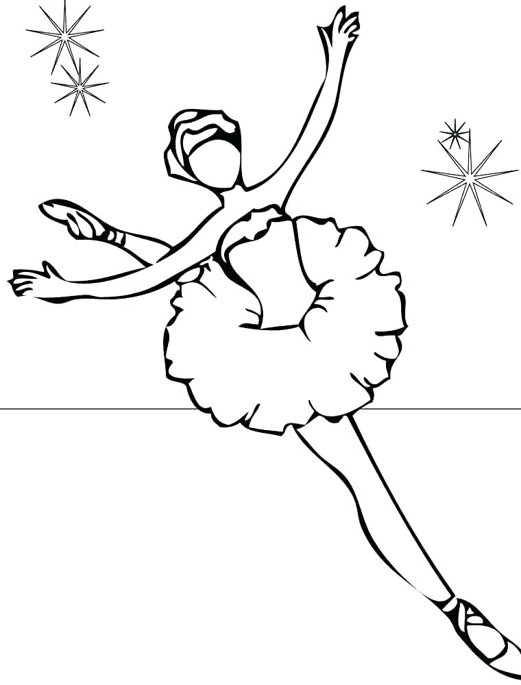 760x1000 Princess Ballerina Coloring Pages