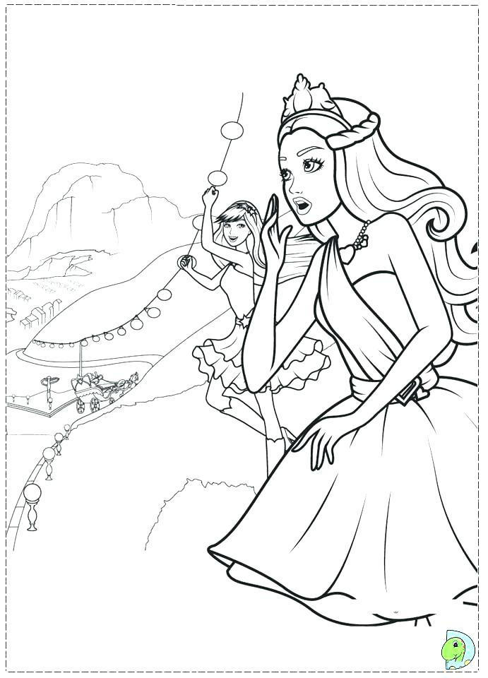 691x960 Barbie Christmas Coloring Pages Coloring Pages For Girls To Print