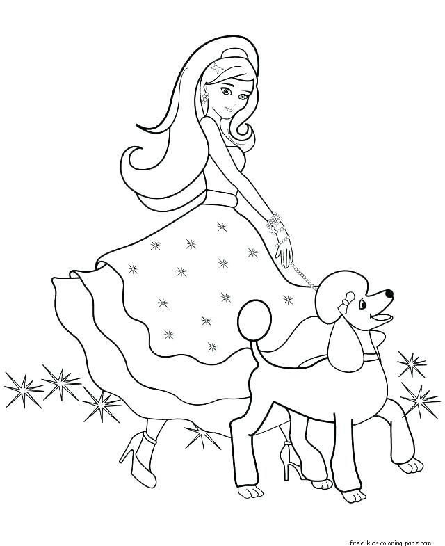 640x785 Thumbelina Coloring Pages Barbie Color Page Barbie Color Page