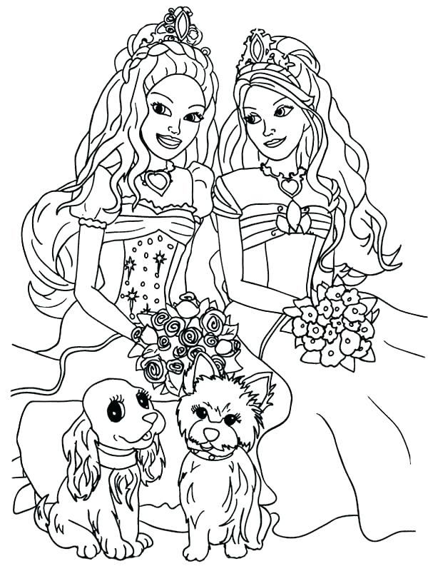 600x800 Barbie Mermaid Coloring Page Barbie Mermaid Coloring Pages Fish