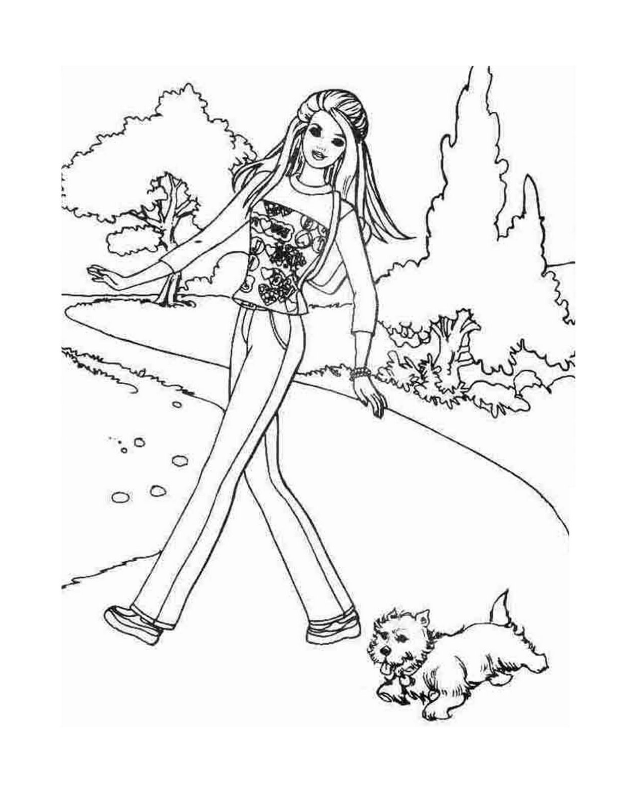 1236x1600 Free Barbie Coloring Pages Collections Image