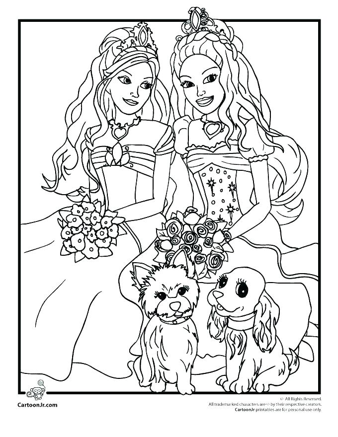 680x880 Barbie Coloring Pages Print Barbie Coloring Pages Online Barbie
