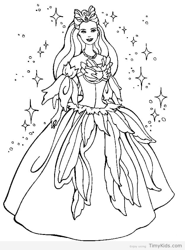 Barbie Doll Coloring Pages at GetDrawings.com | Free for personal ...