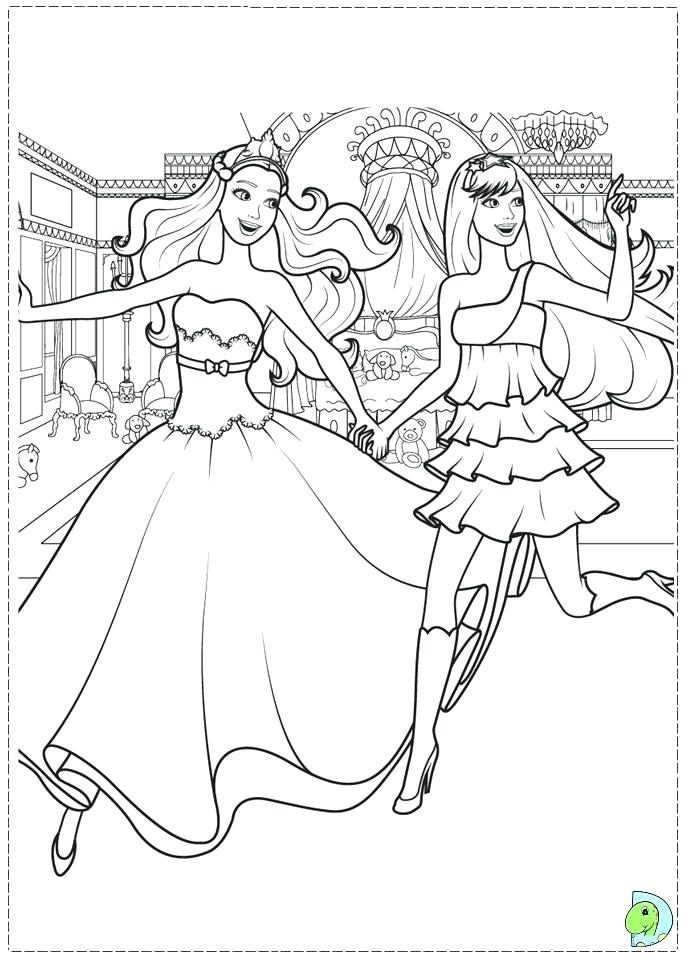691x960 Barbie Dream House Coloring Pages Drawn Barbie Barbie Life
