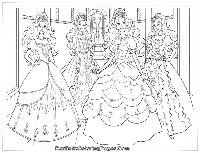 655x500 Barbie In The Dream House Coloring Pages
