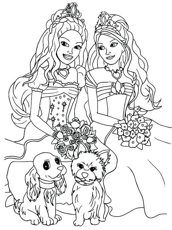 600x800 Barbie Life In The Dreamhouse Coloring Pages Barbie Dream House