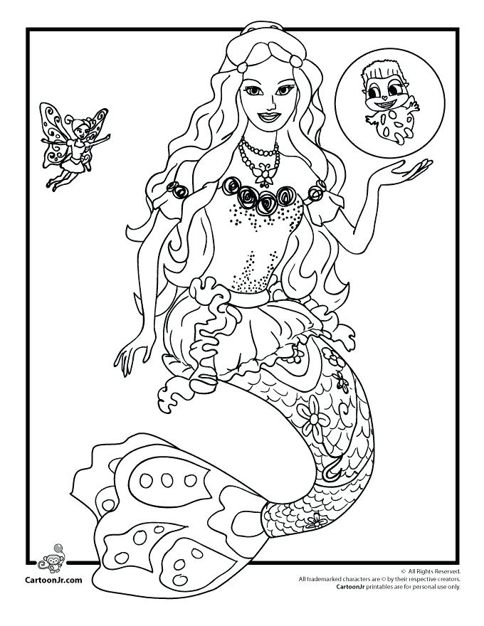 680x880 Coloring Pages Barbie Barbie Coloring Page Free Coloring Pages