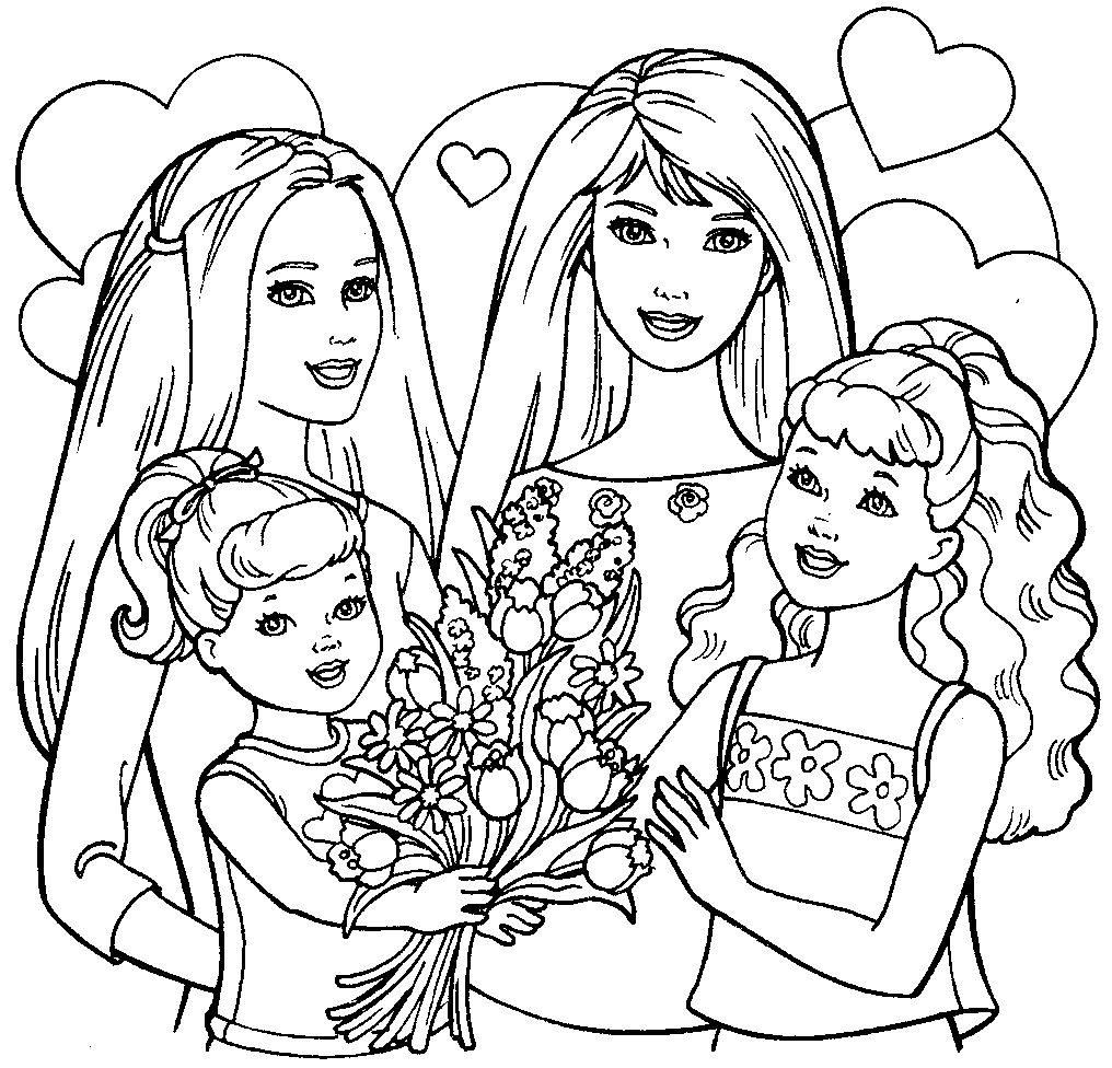 Barbie Dream House Coloring Pages at GetDrawings | Free ...