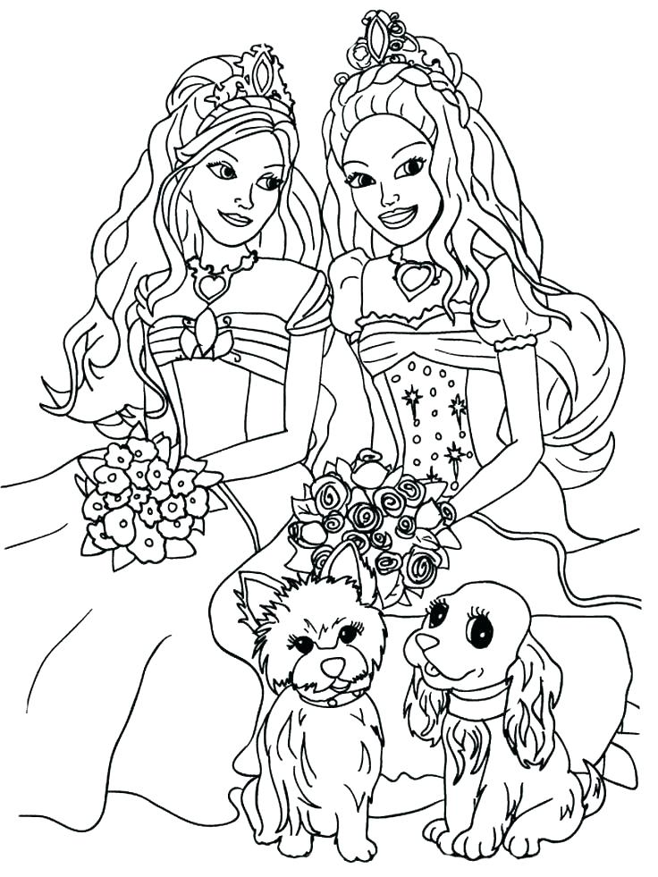 736x981 Barbie Coloring Sheets