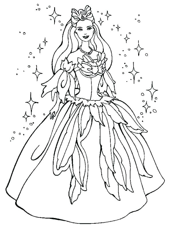600x811 Dresses Coloring Pages Barbie Dress Wedding Sheets Victorian