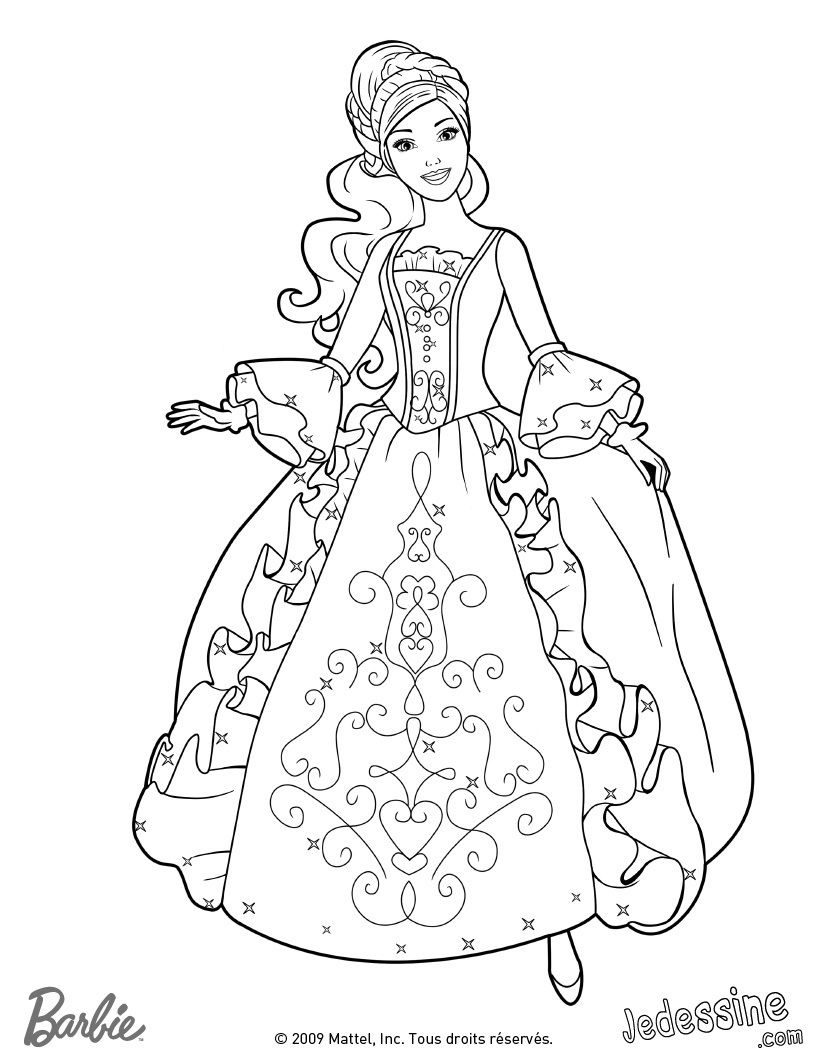 820x1060 World Barbie Coloring, Holly