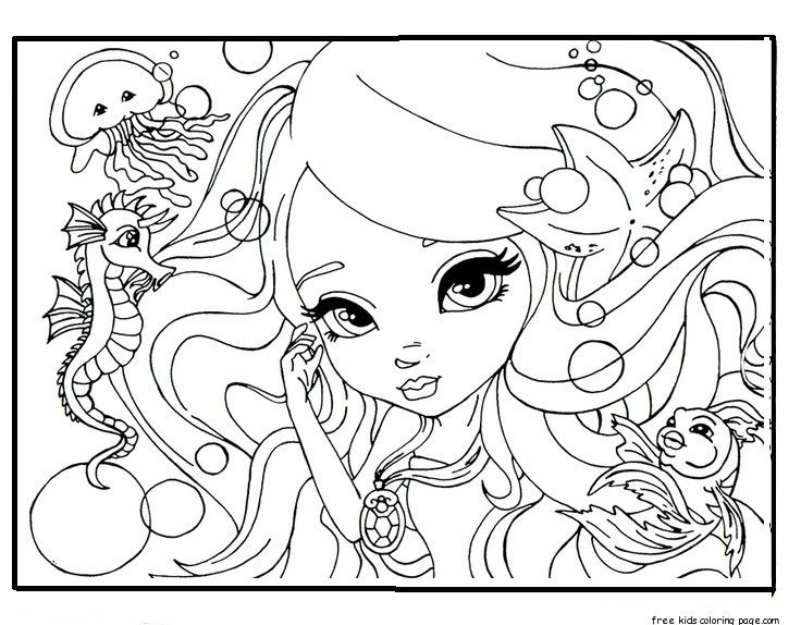 736x574 Face Barbie Coloring Pages For Girlsfree Printable Coloring Pages
