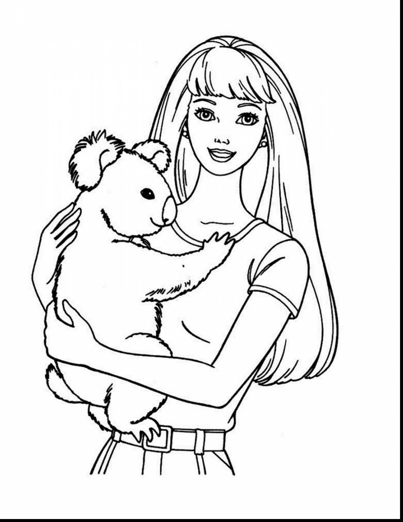 1359x1760 Barbie Face Coloring Page Awesome Barbie Coloring Pages