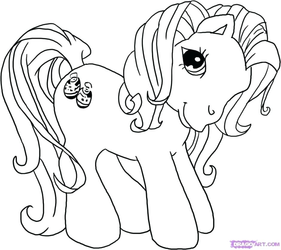 940x835 Barbie Face Coloring Pages Barbie And Her Friends Pony Horse