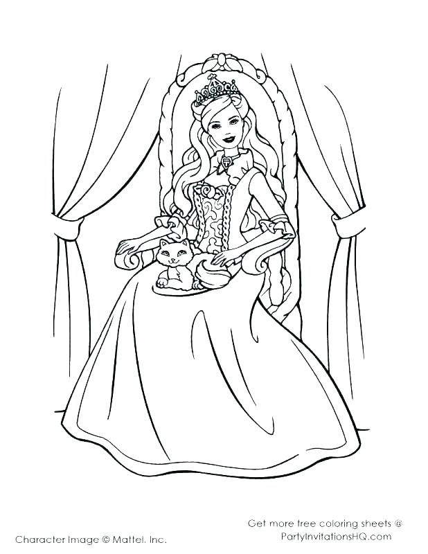 Barbie Fairy Coloring Pages At Getdrawingscom Free For Personal