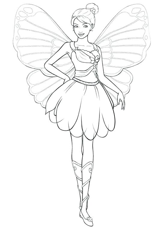 516x757 Coloring Pages Fairies Coloring Pages To Print For Girls Fairies