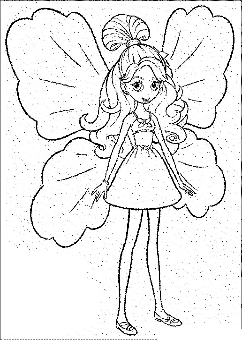 1000x1400 Girls Coloring Pages Print Color Craft