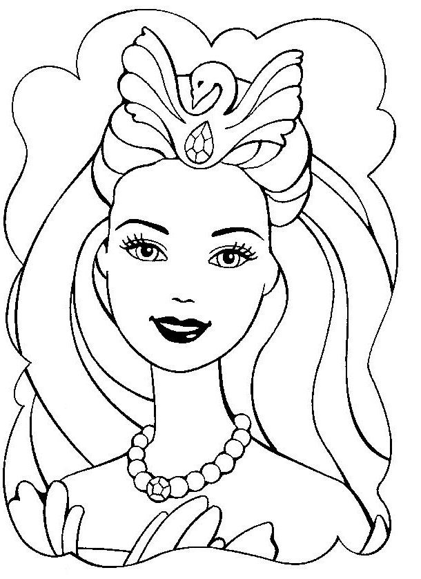 610x838 Girly Coloring Pages Beautiful Barbie Coloring Pages For Girly