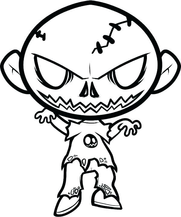 600x718 Coloring Pages Scary Coloring Pages Scary Scary Graveyard Coloring