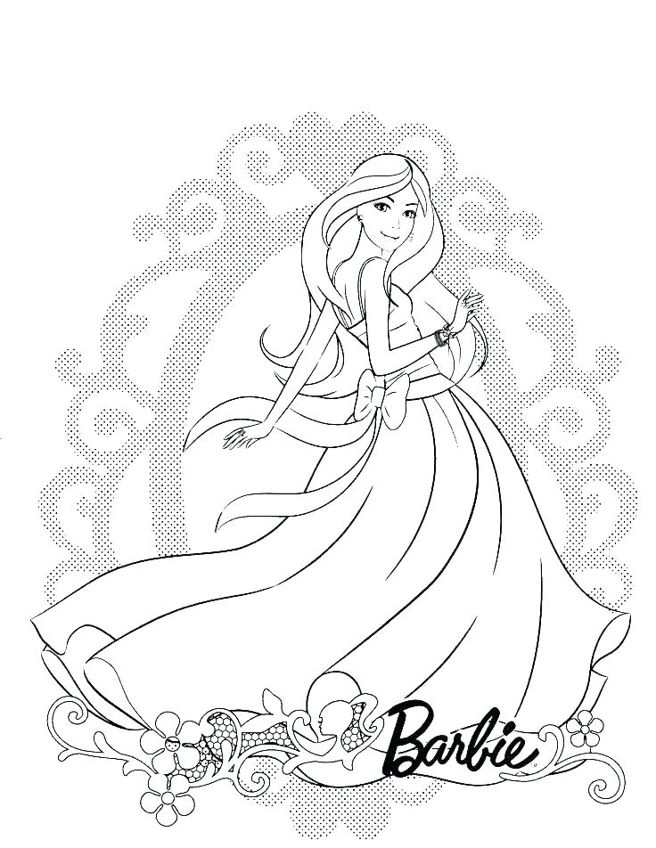 736x952 Barbie Doll Coloring Book And Barbie Doll Coloring Pages Coloring