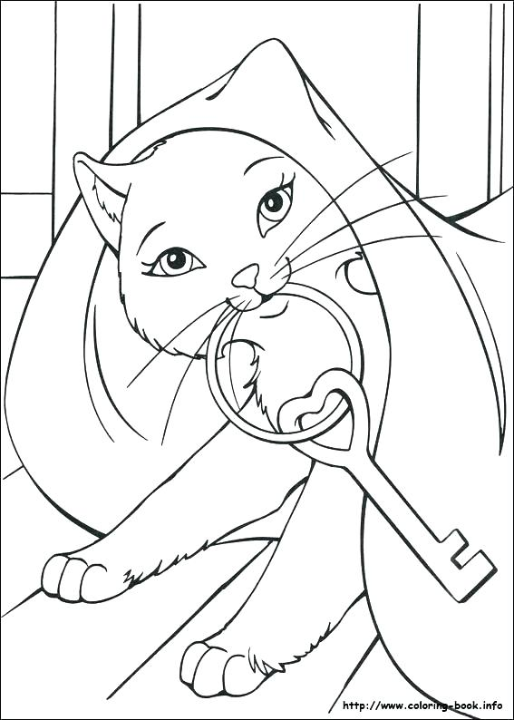 567x794 Barbie And The Secret Door Coloring Pages Game In A Mermaid Tale