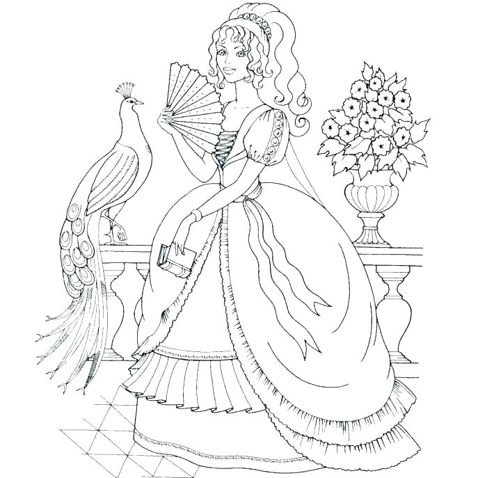 687x687 Barbie Colouring Pages Barbie Dresses Coloring Barbie Wedding