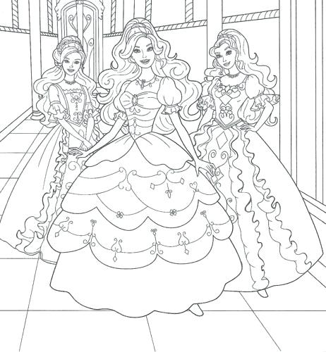 462x500 Barbie And Ken Coloring Pages Barbie Called Barbie Coloring Pages