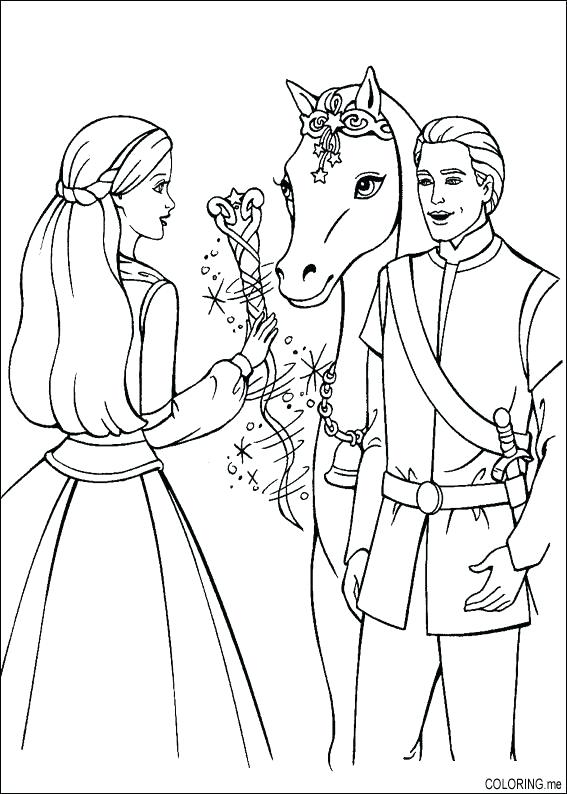 567x794 Barbie And Ken Coloring Pages Barbie Ken Coloring Pages