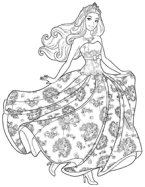 Barbie Life In The Dreamhouse Coloring Pages at ...