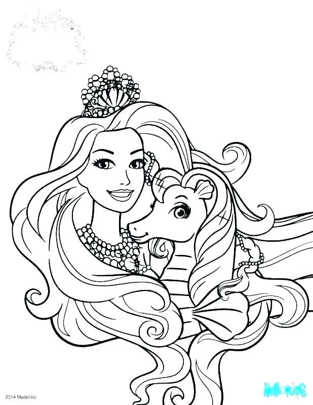Barbie Mermaid Printable Coloring Pages at GetDrawings ...