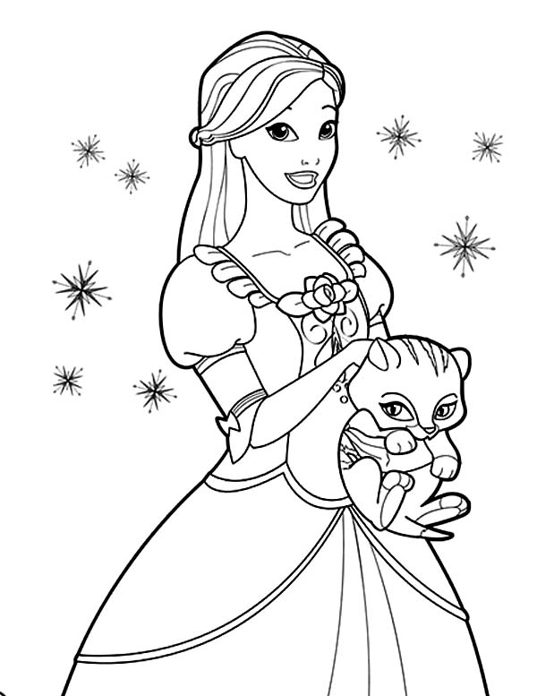 Barbie Princess Coloring Pages at GetDrawings.com | Free ...
