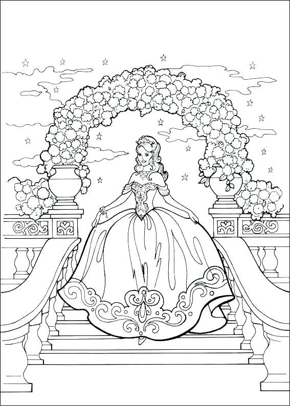 567x794 Princess Coloring Pages Online Princess Coloring Page Princess