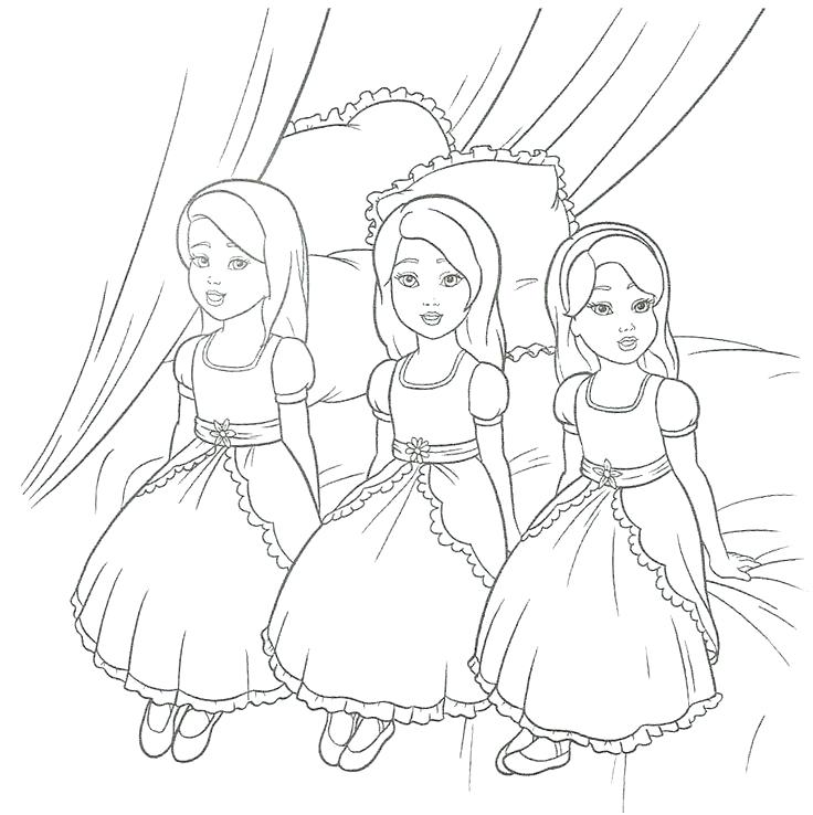 Barbie Printable Coloring Pages At Getdrawings Com Free For