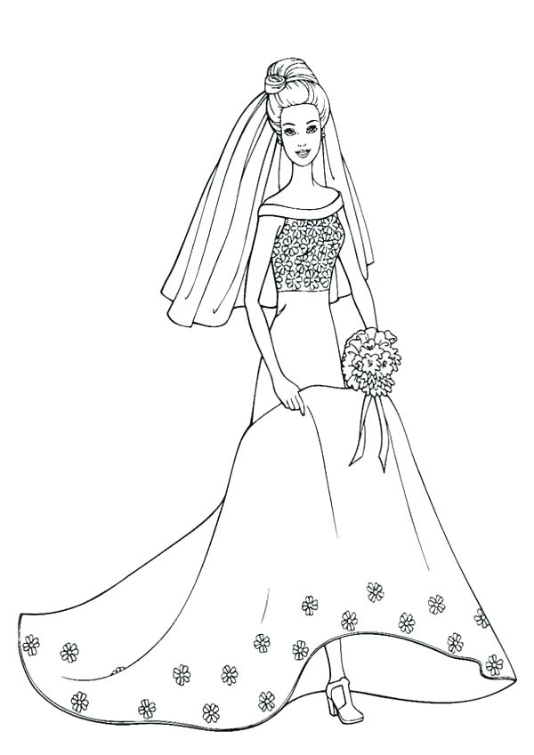 600x849 Dress Coloring Page Dress Up Coloring Pages Dress Coloring Page