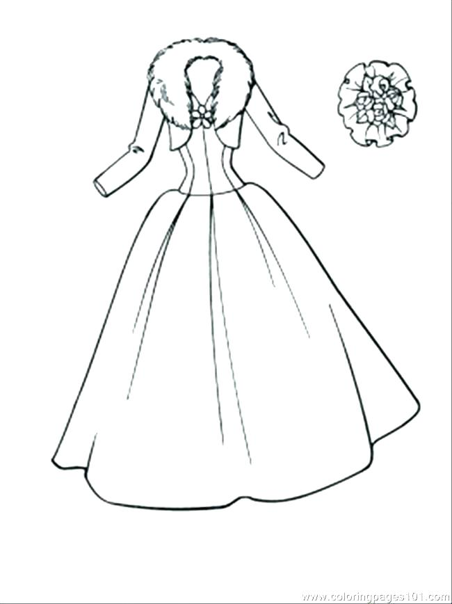 650x868 Dress Coloring Page Barbie Dress Up Coloring Pages Dress Coloring