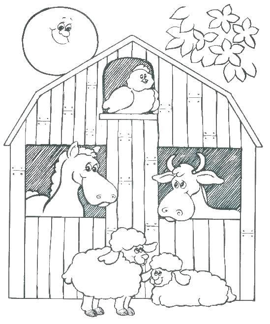 549x659 Coloring Pages For Kids Animals Farm Animals Coloring Pages Animal