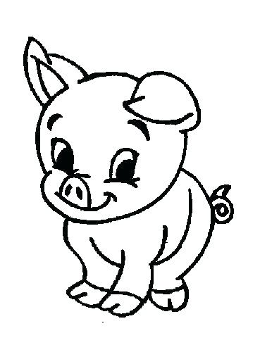 369x490 Barn Animals Coloring Pages Color Sheets For Farm Farm Animals