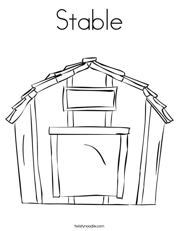 Barn Coloring Pages At Getdrawings Com Free For Personal Use Barn