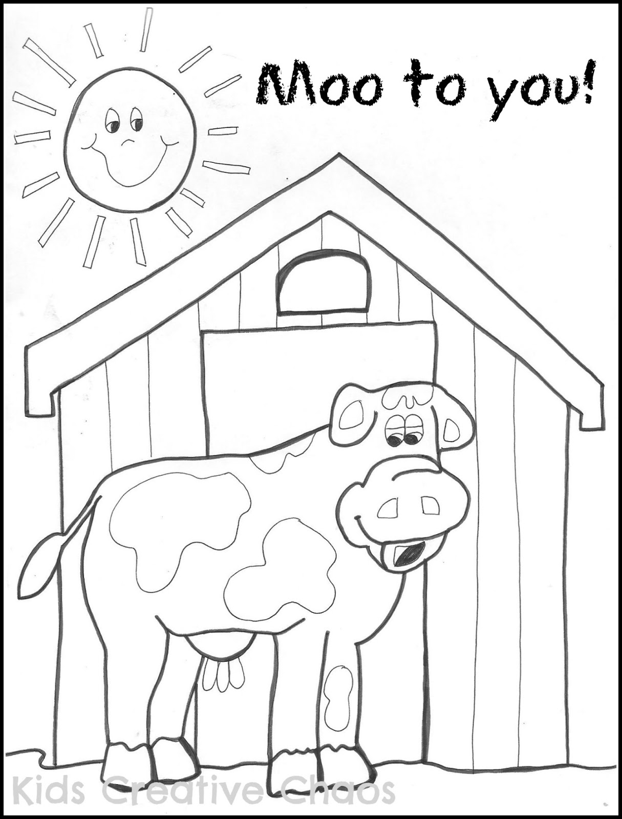 1215x1600 Successful Red Barn Coloring Page Free Printab