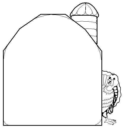 500x523 Turkey Behind The Barn