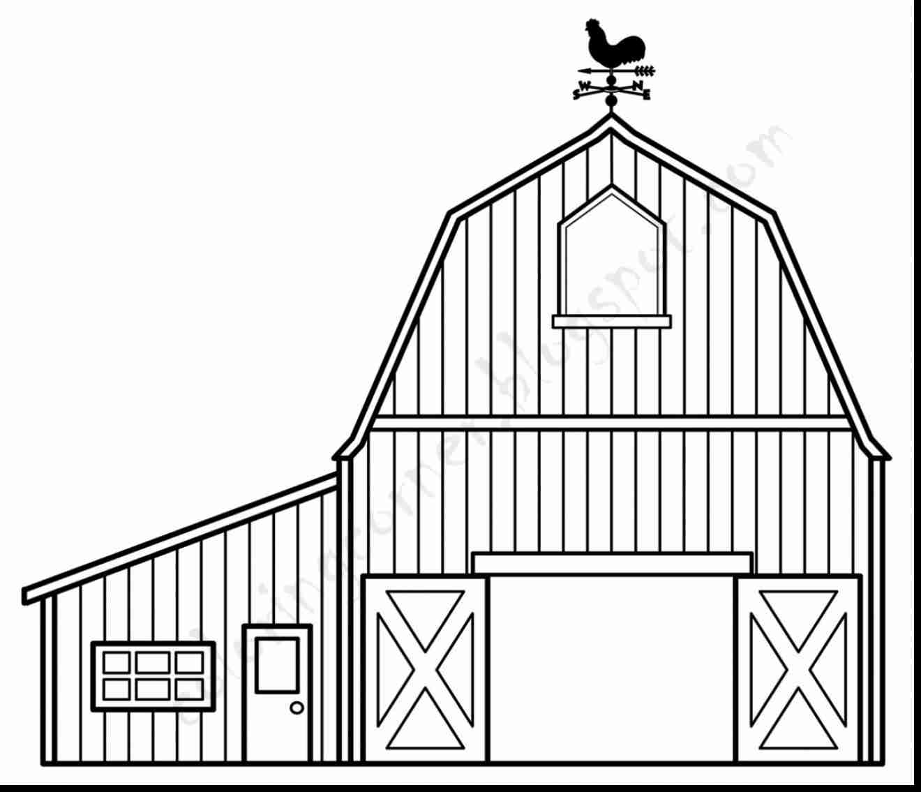 1320x1135 Barn Coloring Page Paginone Biz And To Barns Pages Coloring Pages