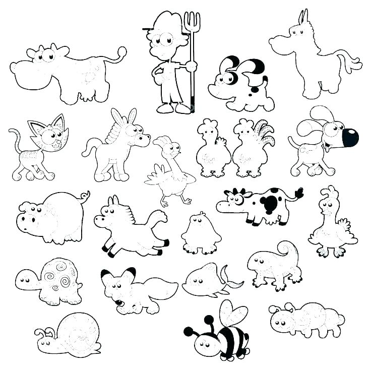 736x734 Barn Coloring Pages Barn With Cows Coloring Page Farm Barn