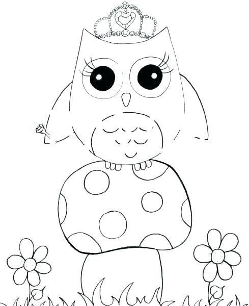489x600 Luxury Barn Owl Coloring Page For Pages To Print Cartoon Beautiful